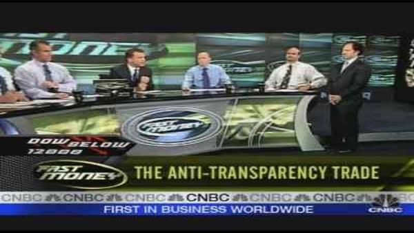 Anti-Transparency Trade