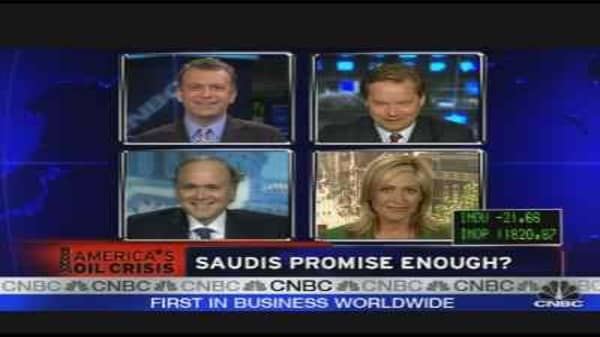 Saudis Promise Enough?