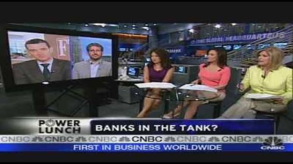 Banks in the Tank?