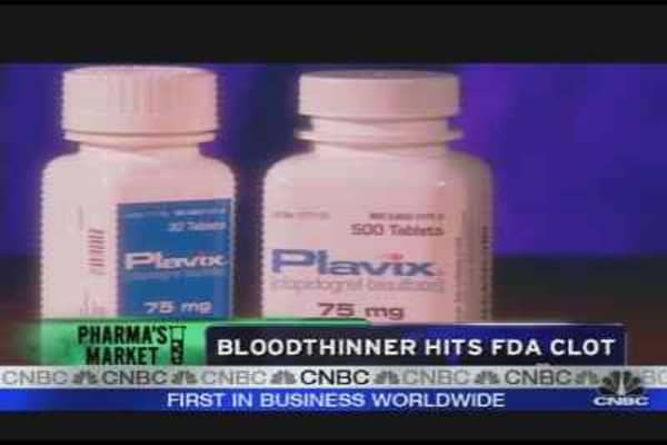Bloodthinner Hits FDA Clot