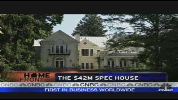 The $42M Spec House