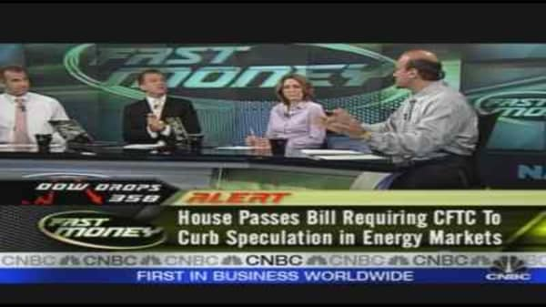 House Passes Energy Speculation Bill