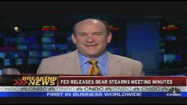 Fed Releases Bear Meeting Minutes