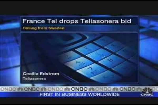 France Telecom Drops TeliaSonera Bid