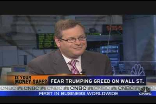 Fear Trumps Greed on Wall St.