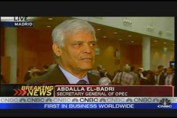 No Oil Shortage: OPEC Sec. General