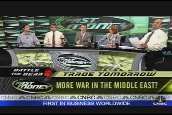Trade Tomorrow: Mideast Turmoil