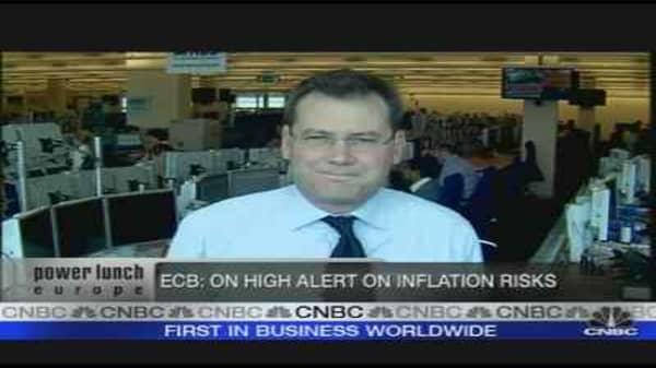 ECB on High Alert