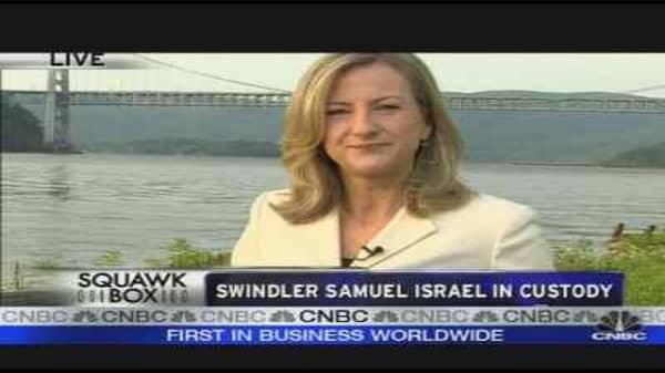 Samuel Israel in Custody