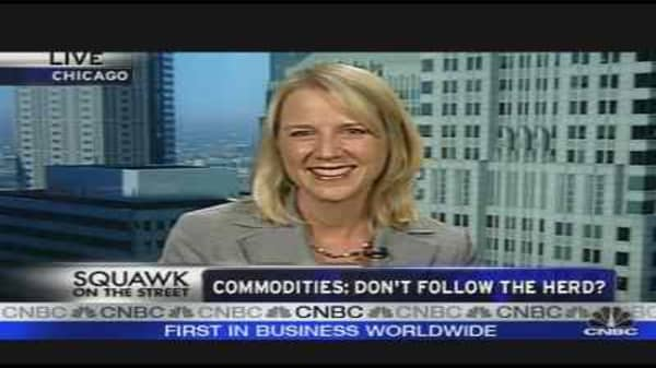 Commodities: Don't Follow the Herd?