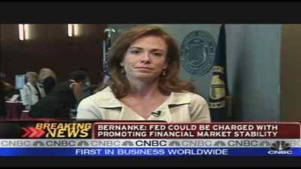 Bernanke & Financials