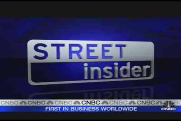 Street Insider: Steel Stocks