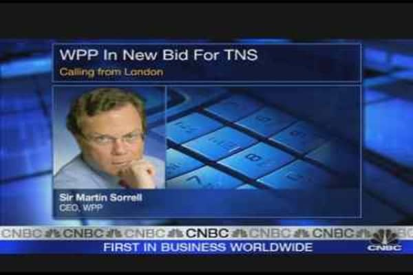 WPP CEO on TNS Bid