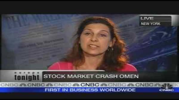 Omen Predicts Stock-Market Crash
