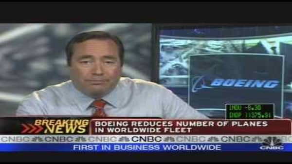 Boeing Reduces Number of Planes