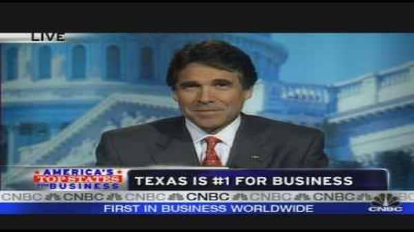 Texas: # 1 State for Business