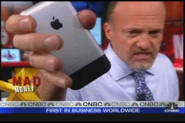 Cramer on AT&T