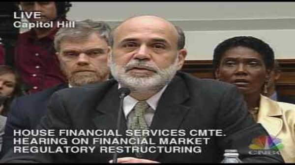 Paulson & Bernanke Testimony