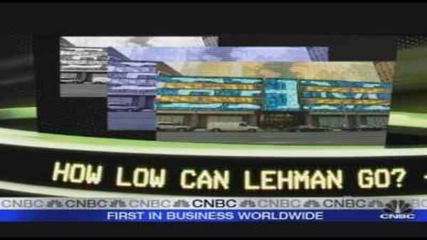 Next Week's Trades: Lehman