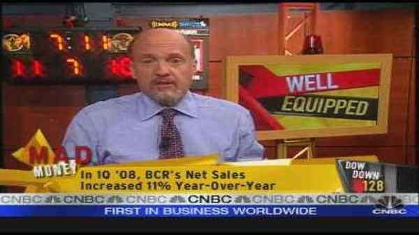Recession Guide: CR Bard