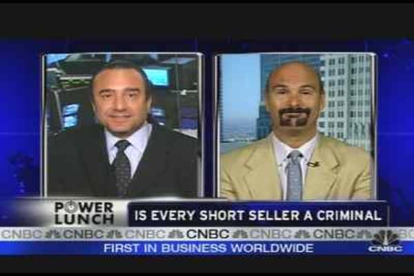 Are Shorts Killing Wall Street?