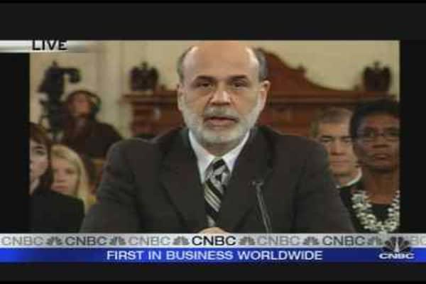 Bernanke on the Economy