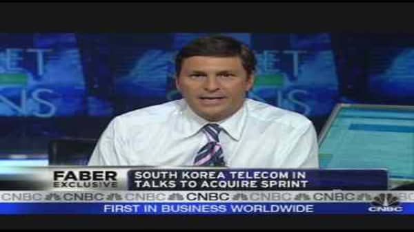 SK Telecom & Sprint in Talks