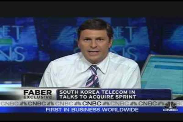 SK Telecom & Sprint in Talks