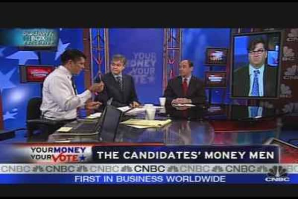 Political Candidates' Money Men