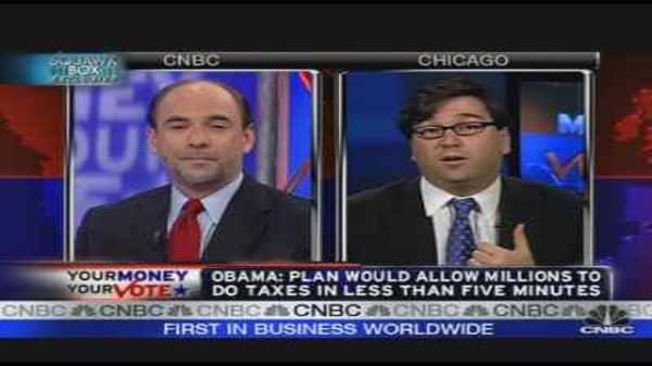 Economic Views: Obama vs. McCain