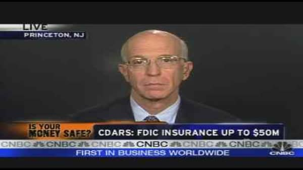 CDARS: FDIC Insurance Up to $50M