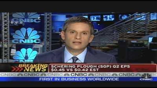 Schering-Plough Earnings