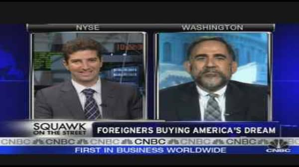Foreigners Buy America's Dream