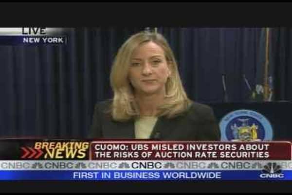 UBS Securities Probe