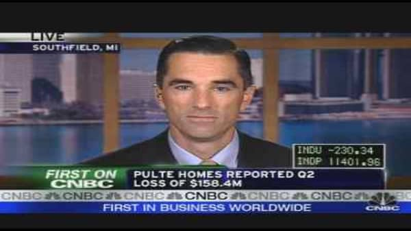 Pulte CEO on Earnings, Housing Crisis