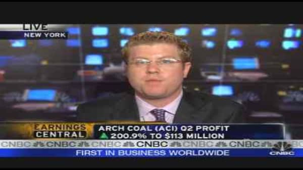 Arch Coal Earnings