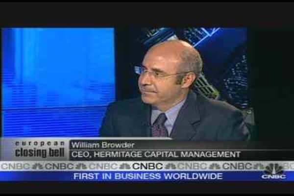 TNK-BP Conflict Dents Russian Stocks