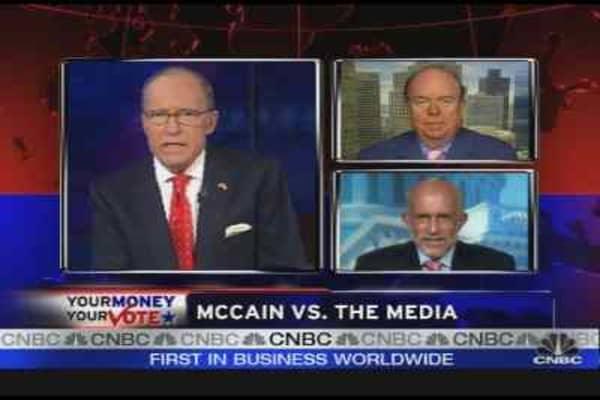 McCain vs. The Media