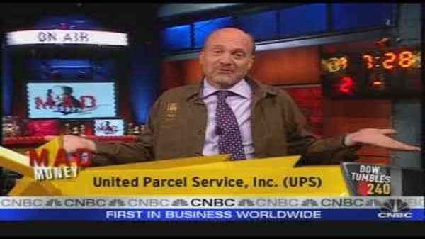 Cramer On UPS