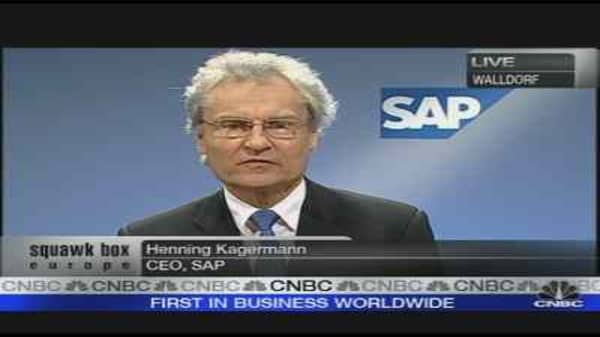 SAP Optimistic on Outlook