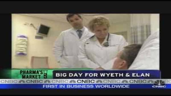 Big Day for Wyeth & Elan