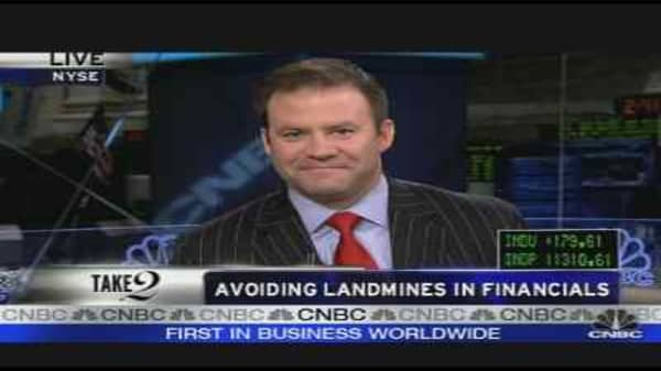 Avoiding Landmines in Financials