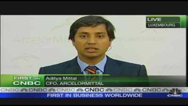 ArcelorMittal CFO on Profit, Outlook