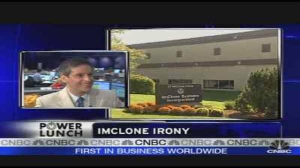 Imclone Irony