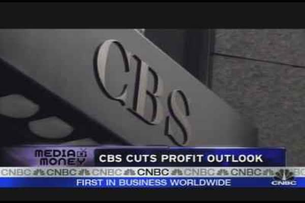CBS Shares Down