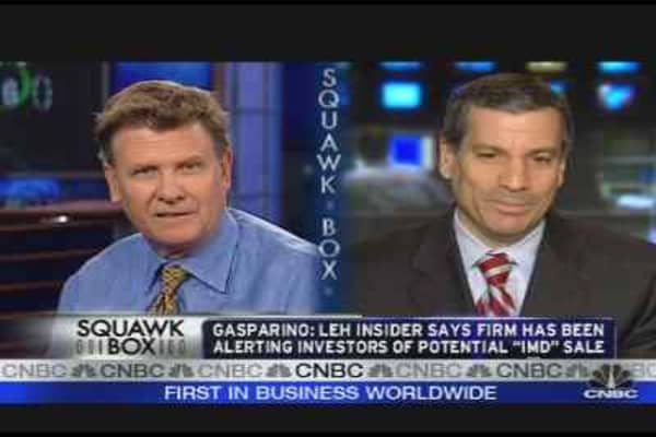 Lehman Weighs Sale of Investment