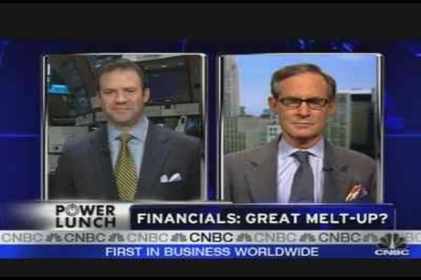 Financials: Great Melt-Up?