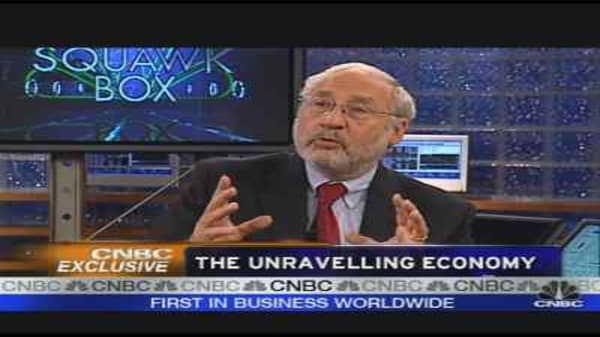 Stiglitz on the Credit Crisis