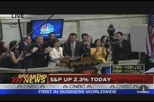 Maria Closes the NYSE