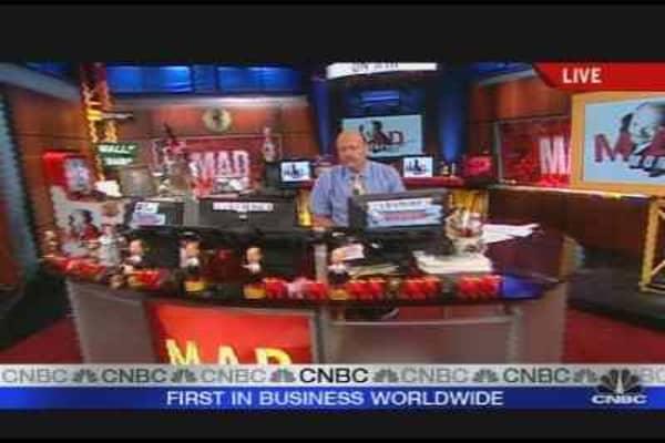 Cramer's Take on the Market